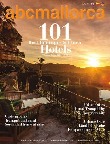 6707712f5 77th abcMallorca 101 Best Boutique   Finca Hotels by abcMallorca - issuu