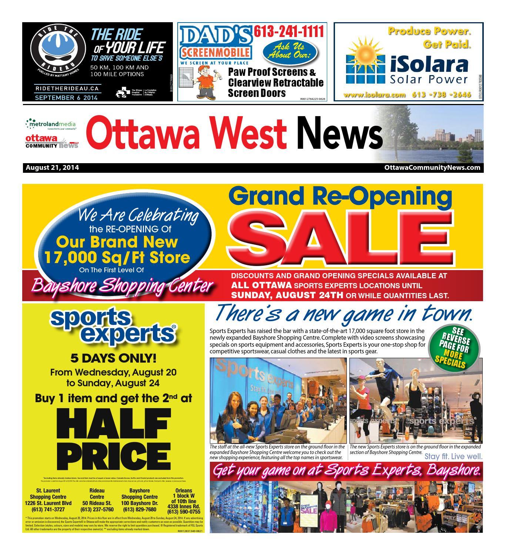 391bced2bc7 Ottawawest082114 by Metroland East - Ottawa West News - issuu