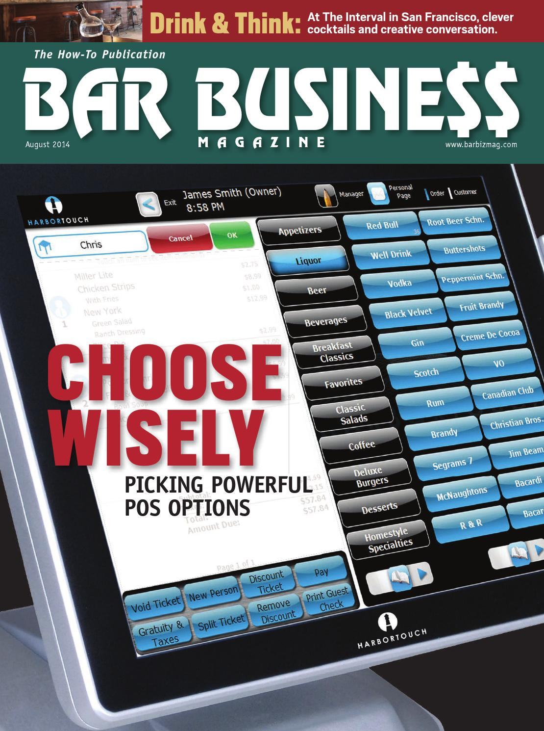 August 2014 Bar Business by Bar Business Magazine - issuu