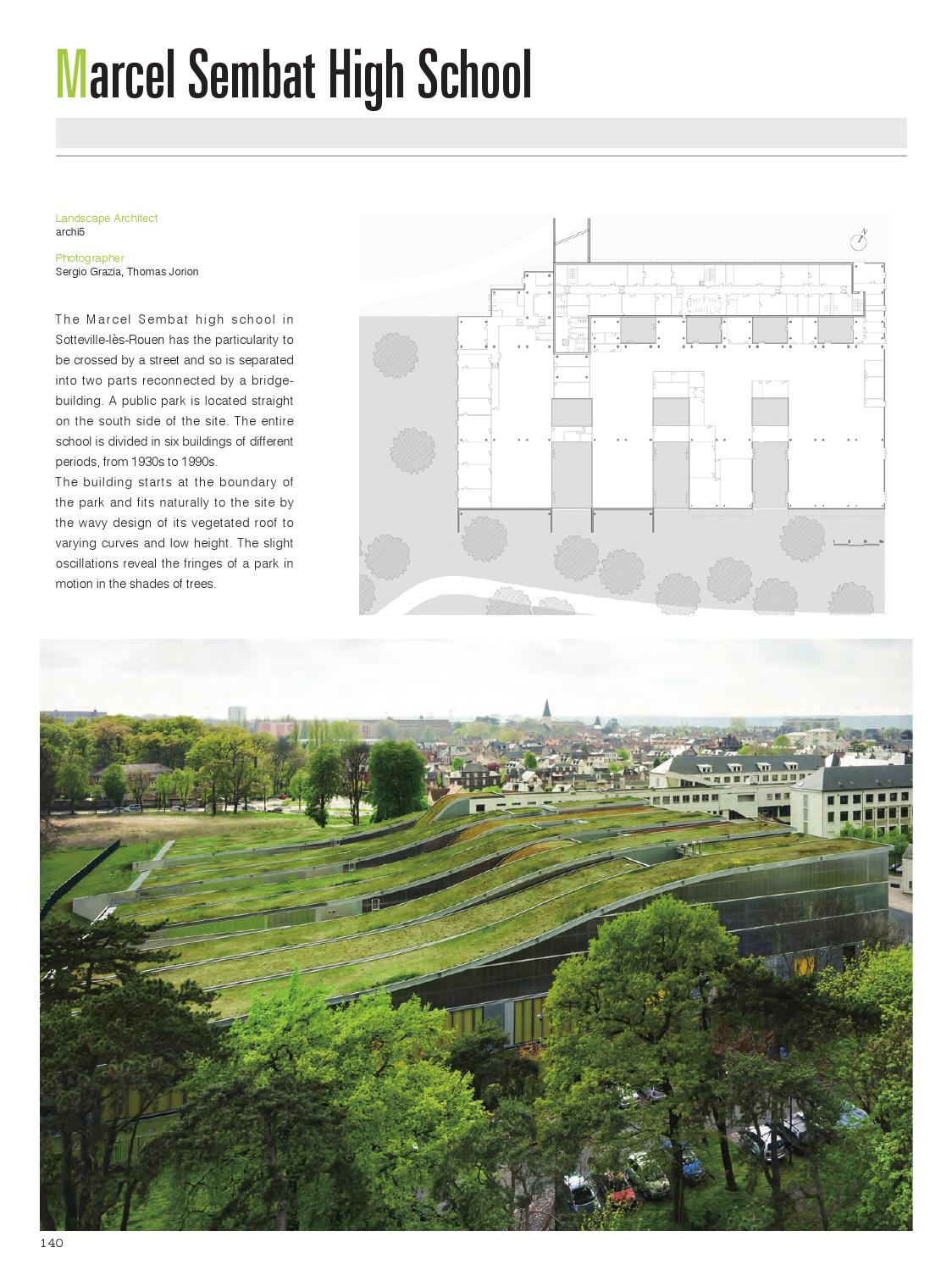 Roof Garden Landscape - World Landscape Case Studies By HI-DESIGN INTERNATIONAL PUBLISHING (HK) CO., LTD. - Issuu