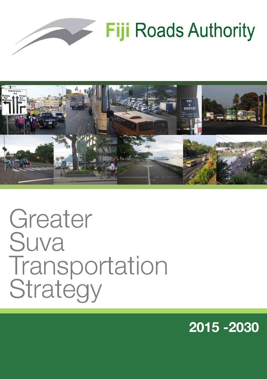 Greater Suva Transportation Strategy by John Richardson - issuu