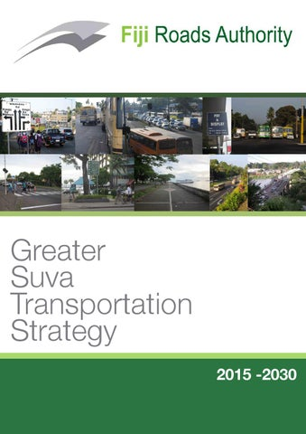 Greater suva transportation strategy by john richardson issuu page 1 publicscrutiny Image collections
