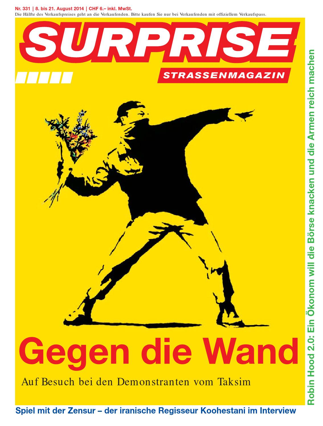 Surprise 331 rz web by Strassenmagazin Surprise - issuu