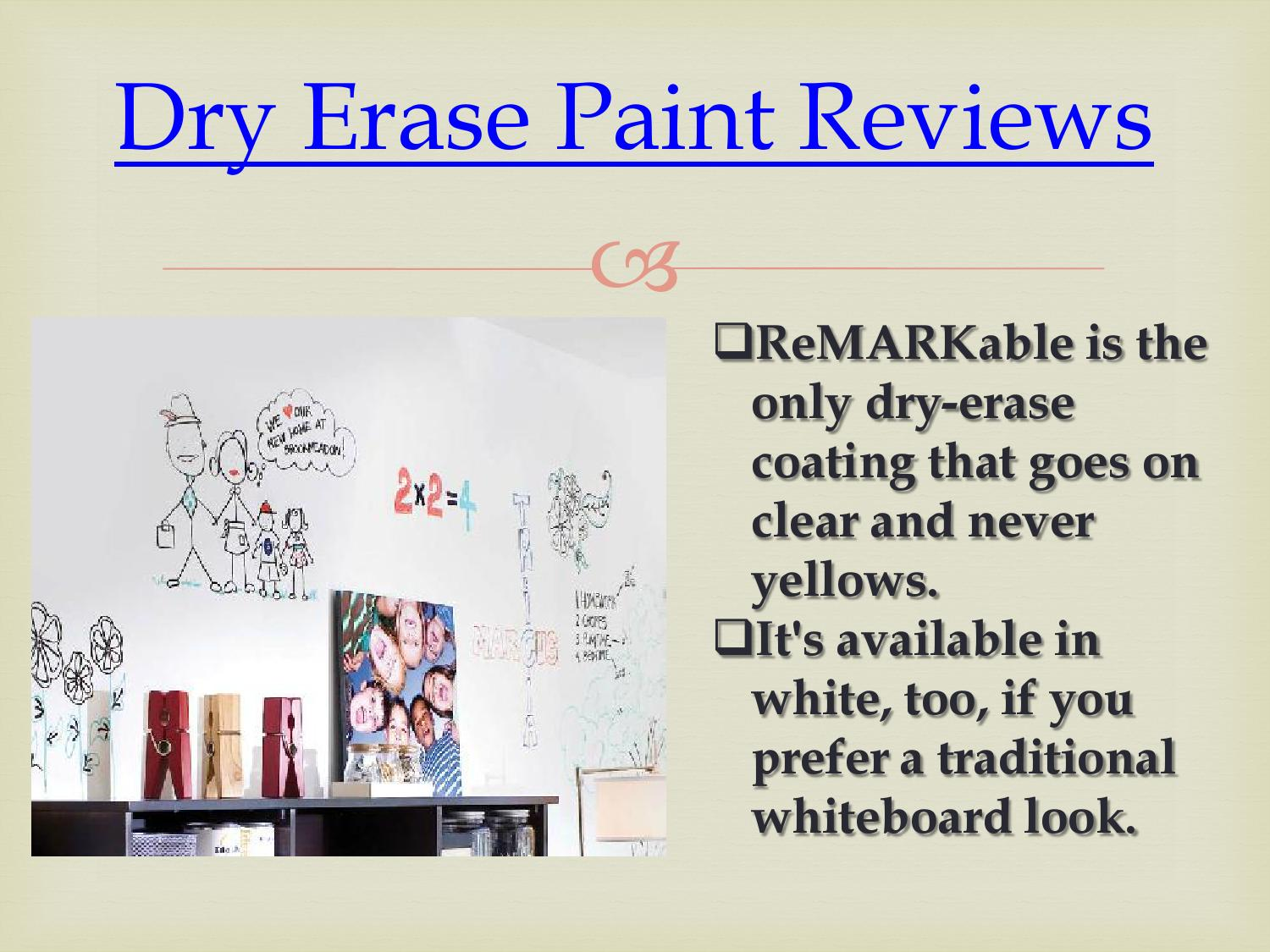 Idea paint whiteboard paint reviews by ideapaint for Remarkable whiteboard paint reviews