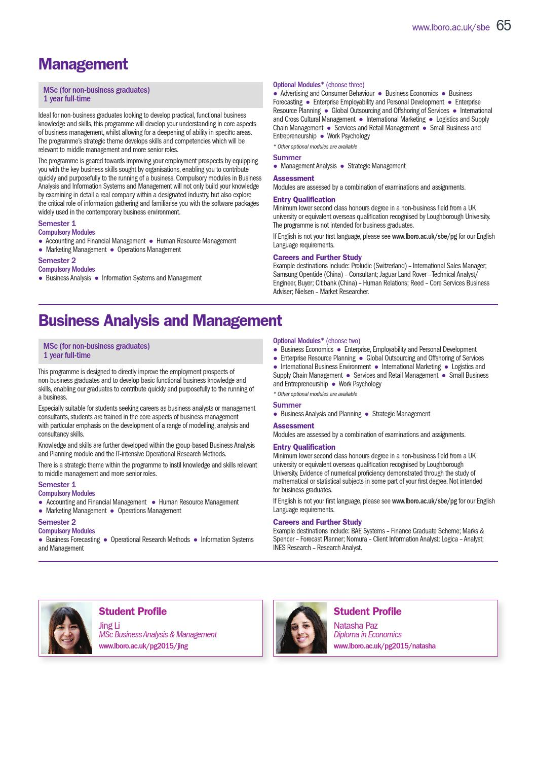 Postgraduate Prospectus 2015 By Loughborough University Issuu
