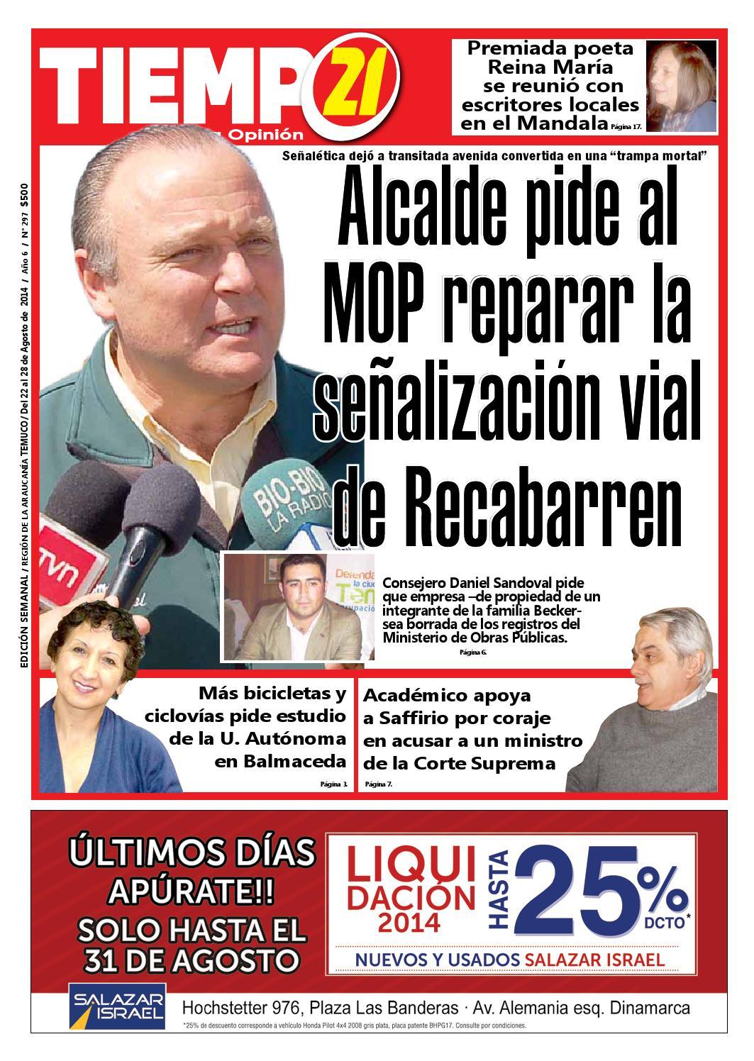 Edici N 297 Alcalde Pide Al Mop Reparar La Se Alizacion Vial De  # Muebles Mehuin Rancagua