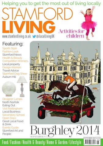 a7ee00f7ce031 Stamford Living September 2014 by Best Local Living - issuu