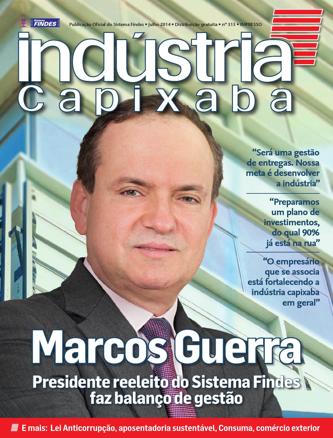 Revista Indústria Capixaba n° 313 by Sistema Findes - issuu d0302c3eef2be