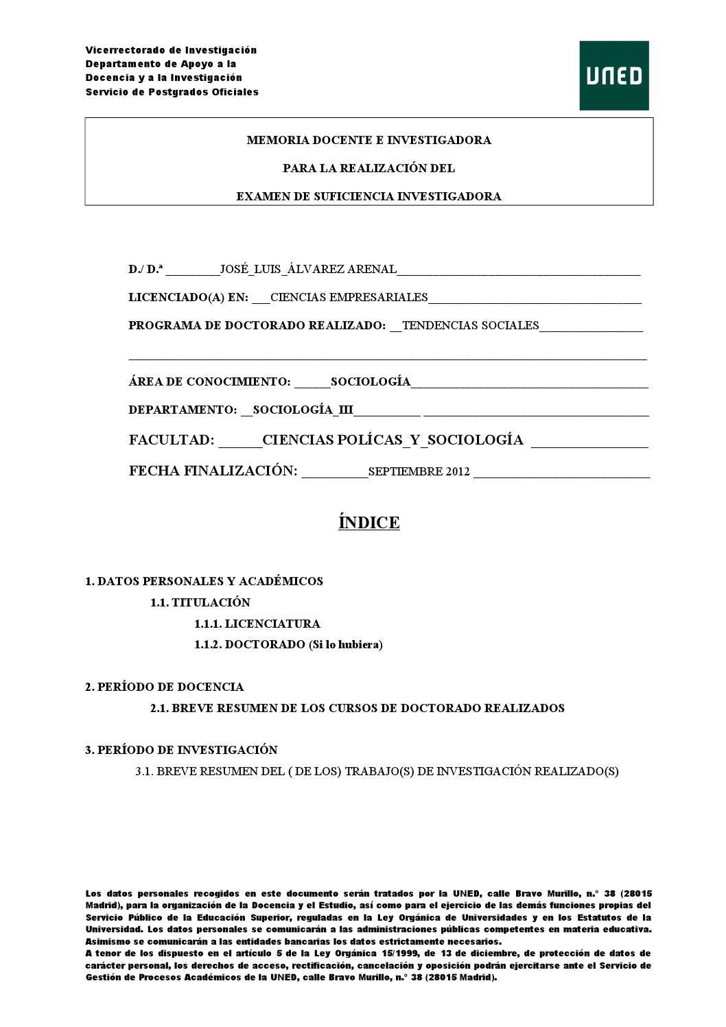 Mem doc1 by luis arenal - issuu