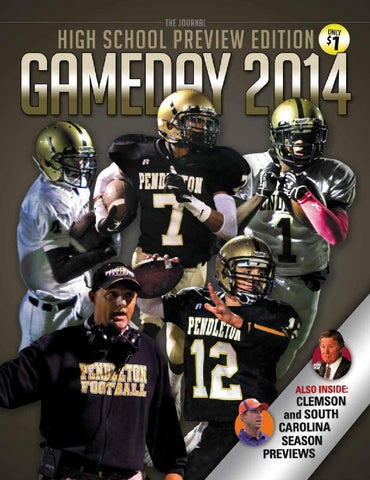 108793a93 Pendleton HS Gameday 2014 by EDWARDS PUBLICATIONS - issuu