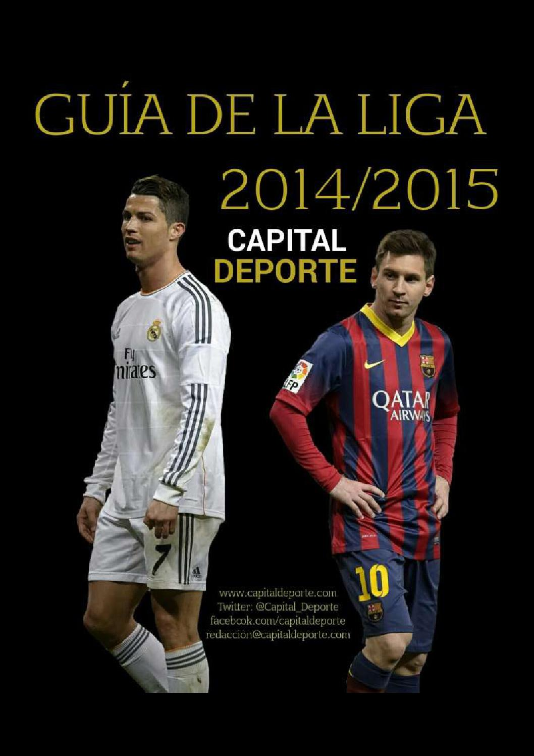 Guia de la Liga 2014 2015 de Capital Deporte by Capital Deporte - issuu b402ab5c09e18
