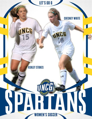 2014 UNCG Womens Soccer Media Guide