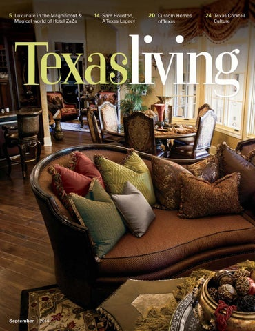 EXCLUSIVE OFFER FOR TEXAS LIVING READERS Bring In This Issue Of Texas  Living Magazine And Receive 10%
