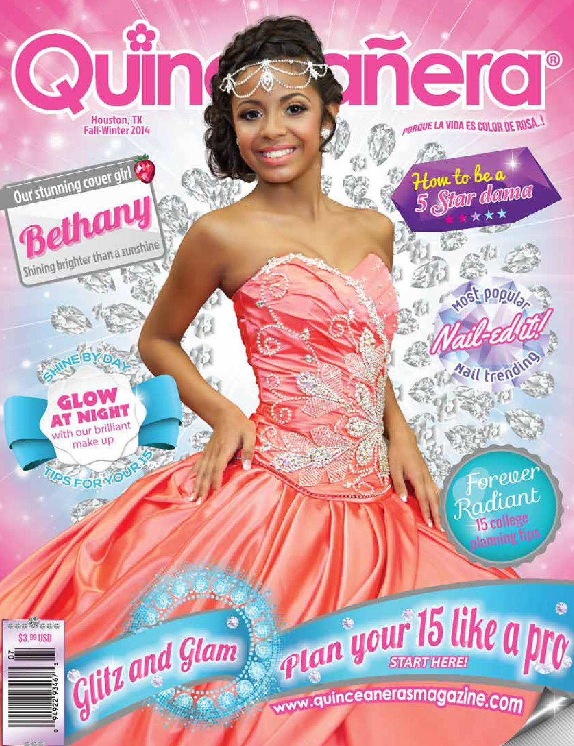 Houston 2014 2 Quinceanera Magazine by Texas Quinceaneras Magazine ...