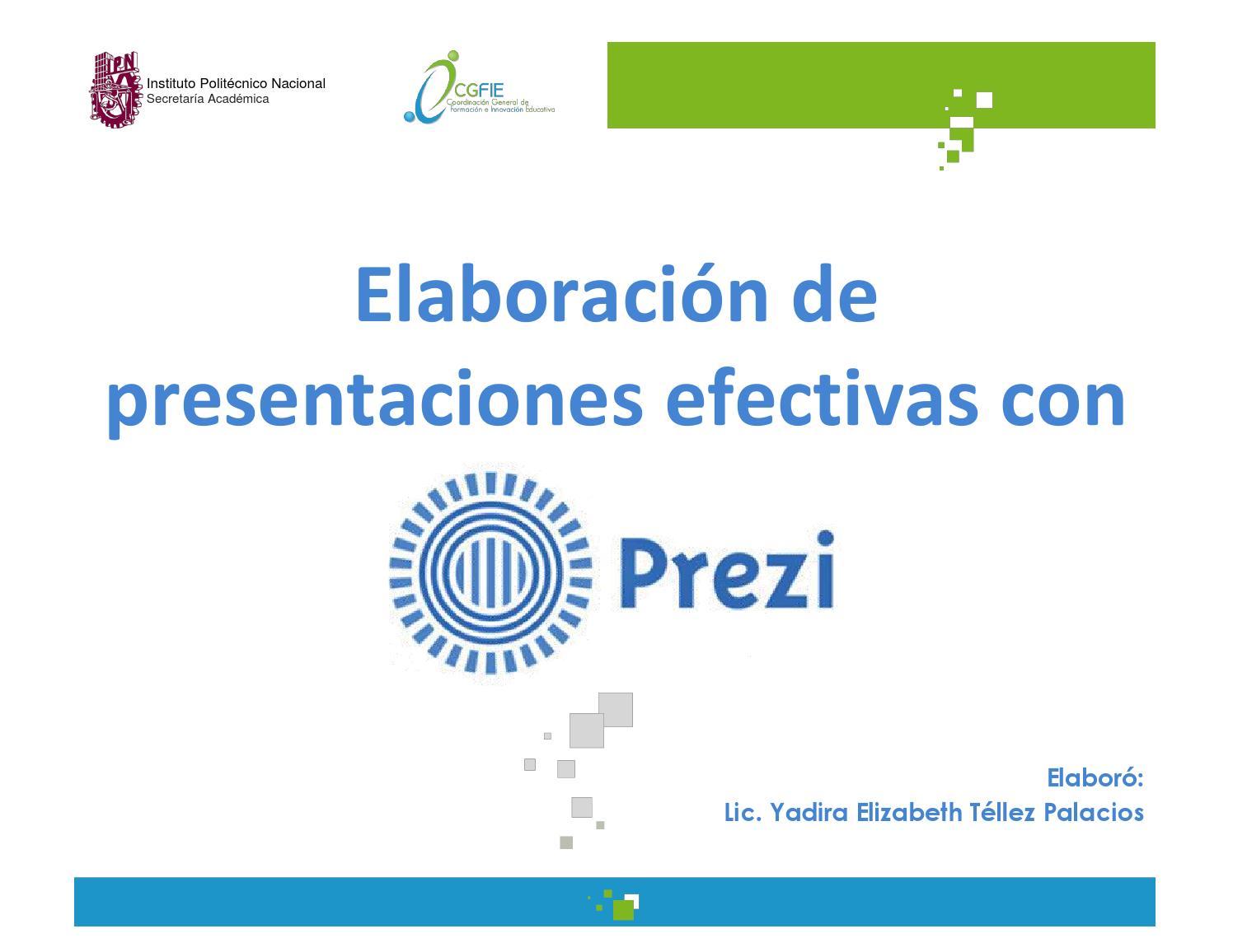 Elaboración de presentaciones con prezi (2) by Yad_Téllez - issuu