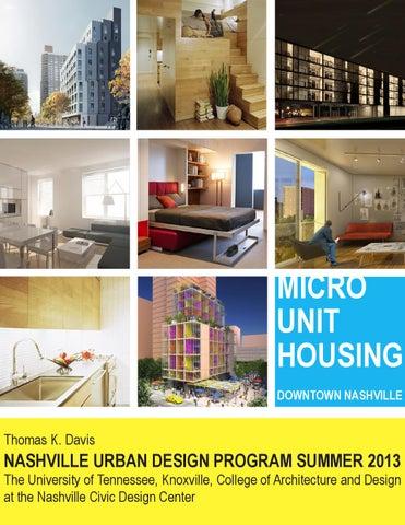 Nashville Urban Design Program Summer 2013