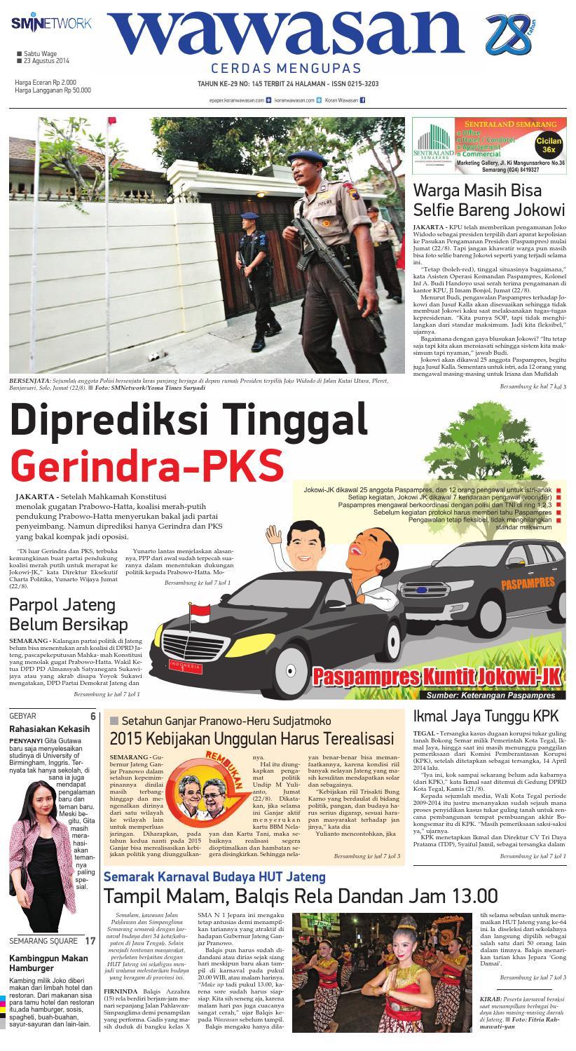 Wawasan 23 Agustus 2014 By Koran Pagi Issuu Produk Ukm Bumn Ring Berlian Eropa