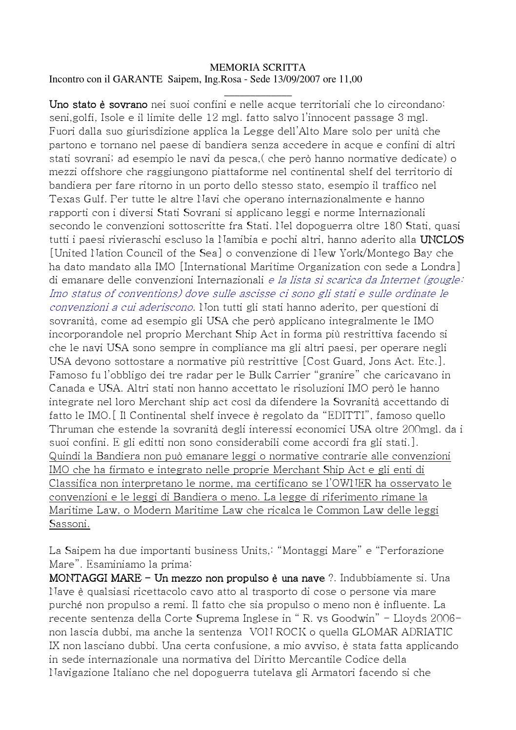 Memoria colloquio con il garante by staff grillo issuu for Seni diversi