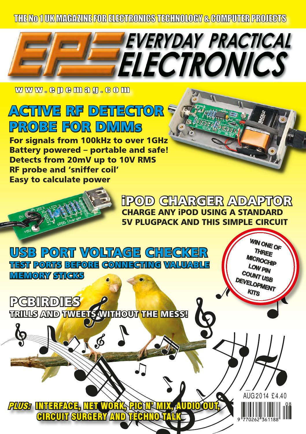 Everyday Practical Electronics 2014 08 By Yurgen Issuu Make A Digital Thermometer Circuit With Ic Ds18b20 Pic 18f4550