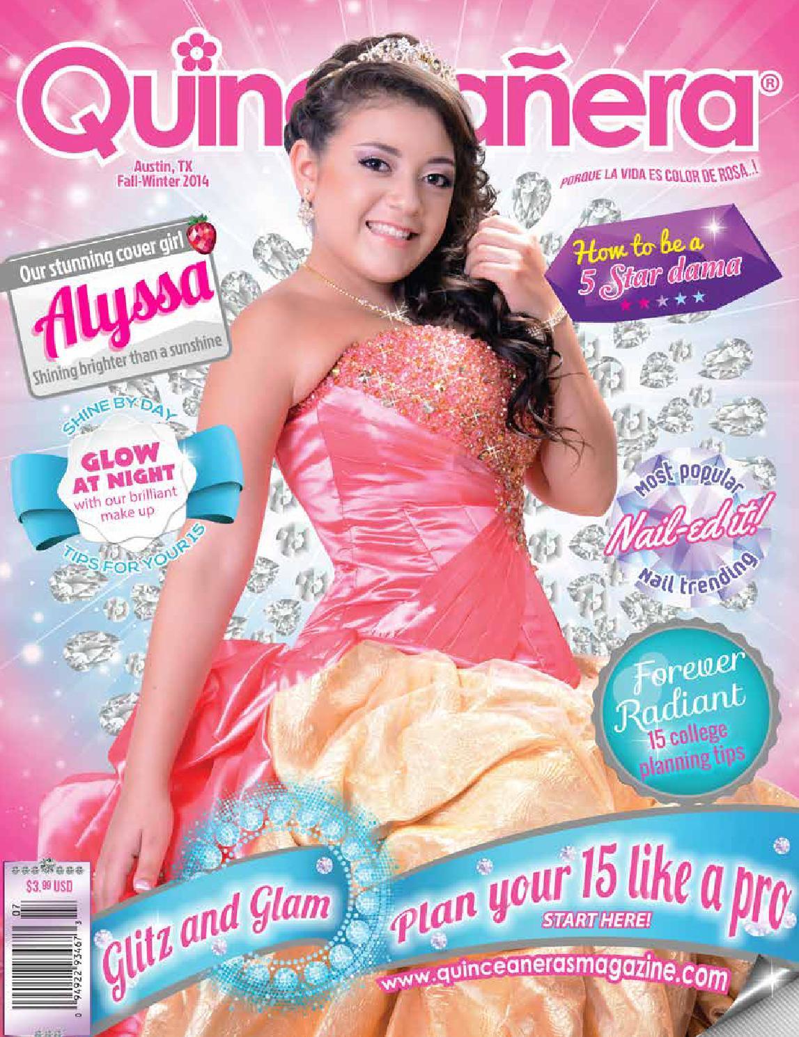 Austin 2014 2 Quinceanera Magazine by Texas Quinceaneras Magazine ...