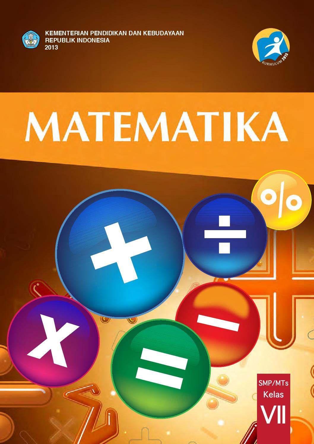 Kelas 07 Smp Matematika Siswa By Desa Mandalahurip Issuu