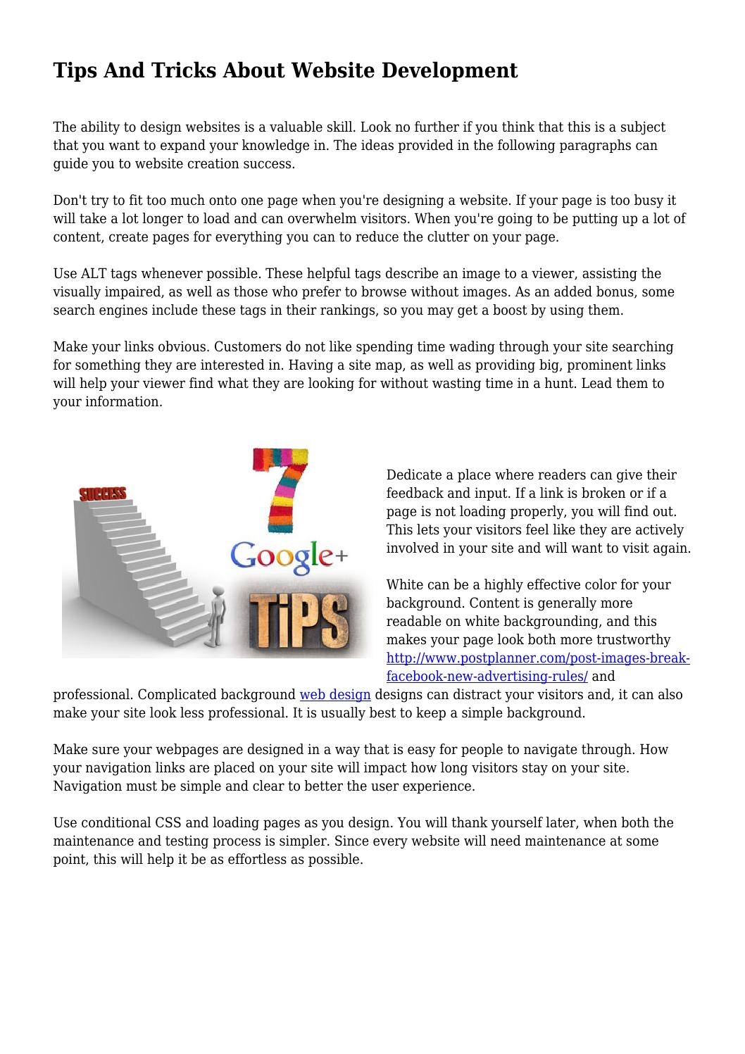 How to make a link on the site Tips professionals