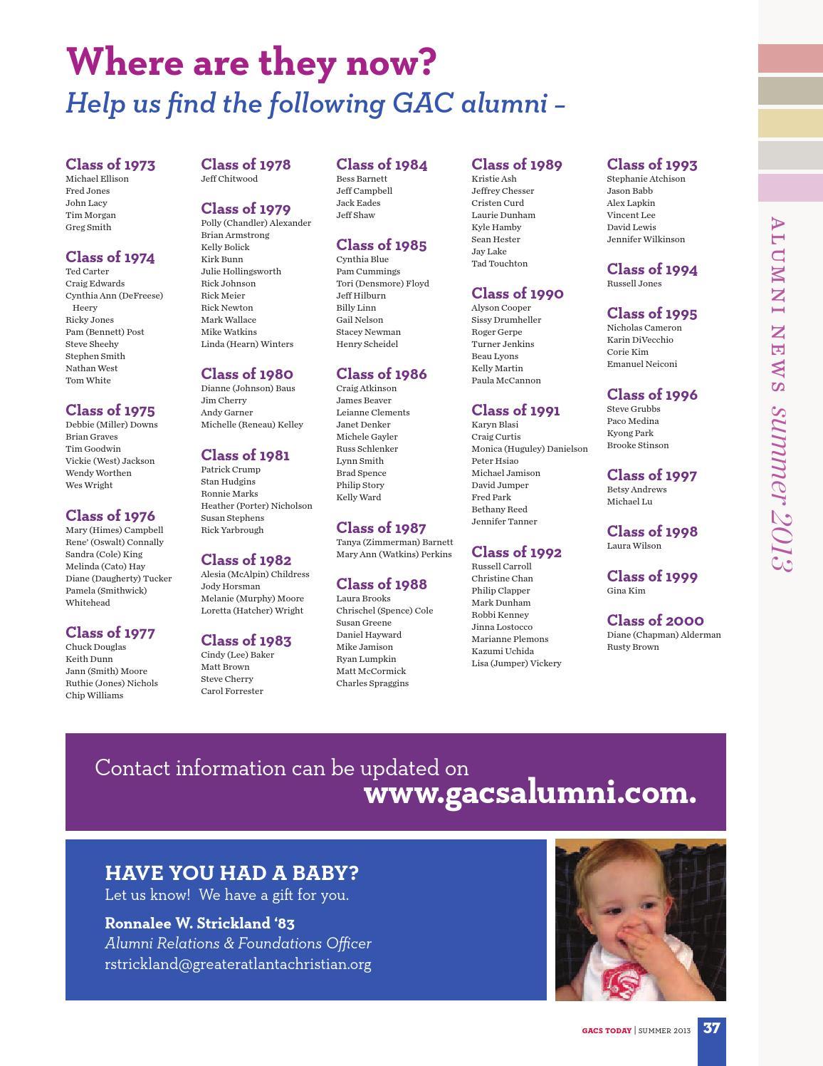 GACS Today Magazine by Greater Atlanta Christian School - issuu