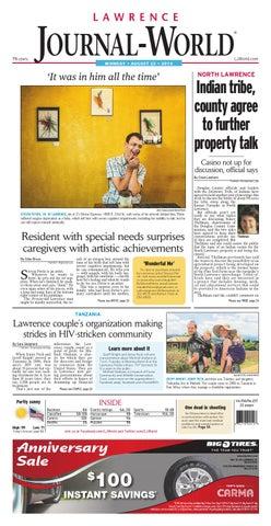 Lawrence Journal-World 08-25-2014 by Lawrence Journal-World