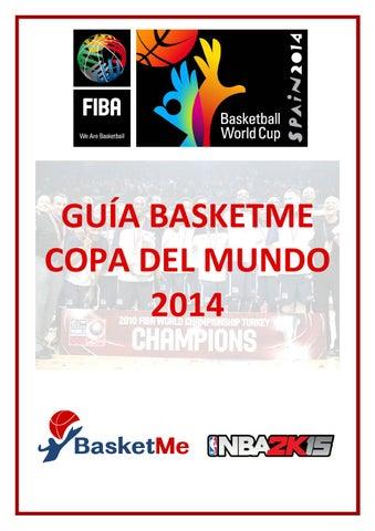 Guía BasketMe Copa del Mundo 2014 by Xavier Garcia i Sunyer - issuu 3253589b784a6