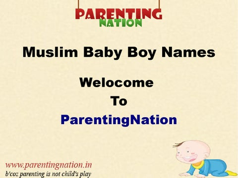 Baby Boy Names : Muslim boy names- with islamic Meaning! | FREE iPhone &  iPad app market