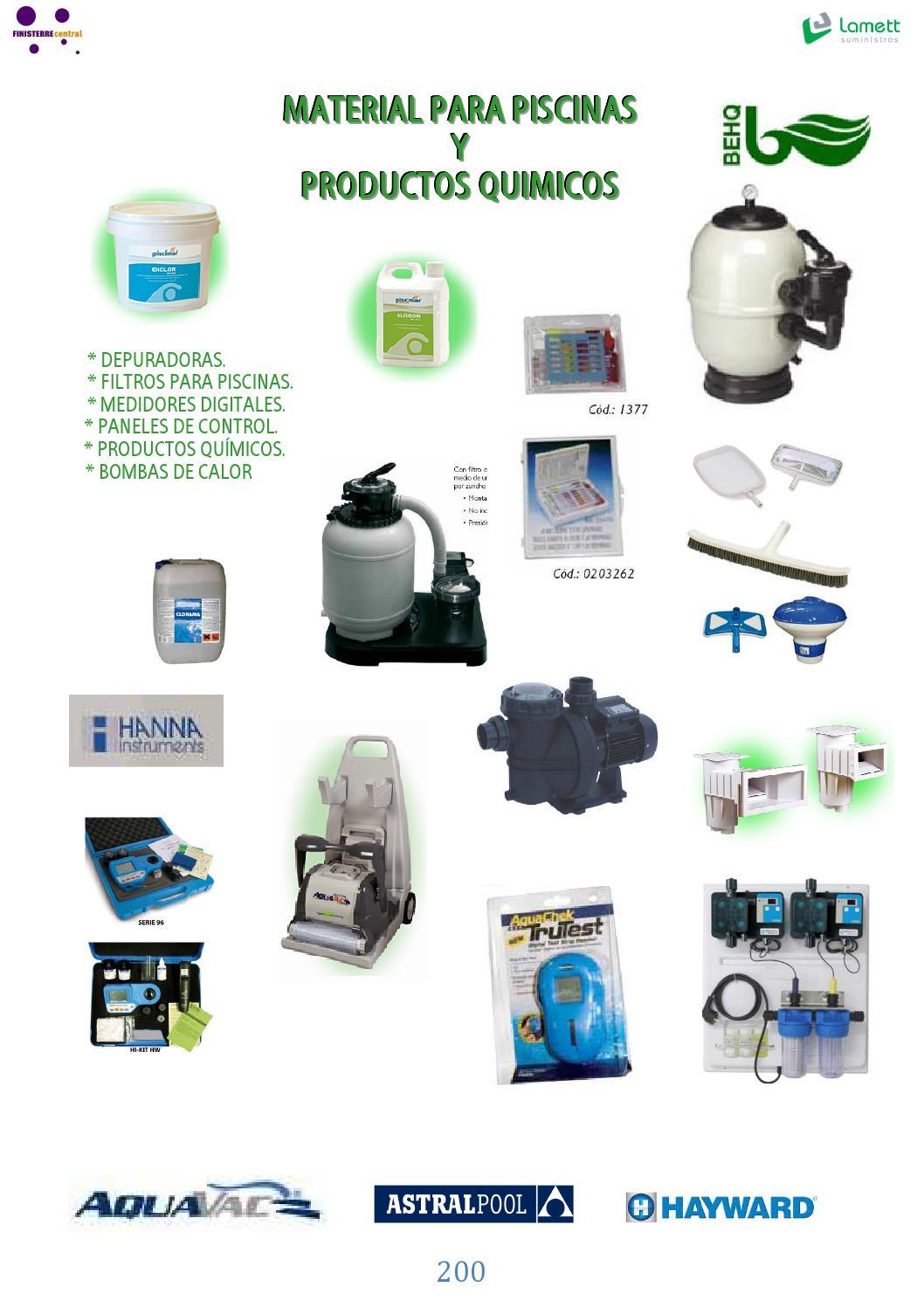 Material para piscinas material para piscinas y productos for Piscinas y productos