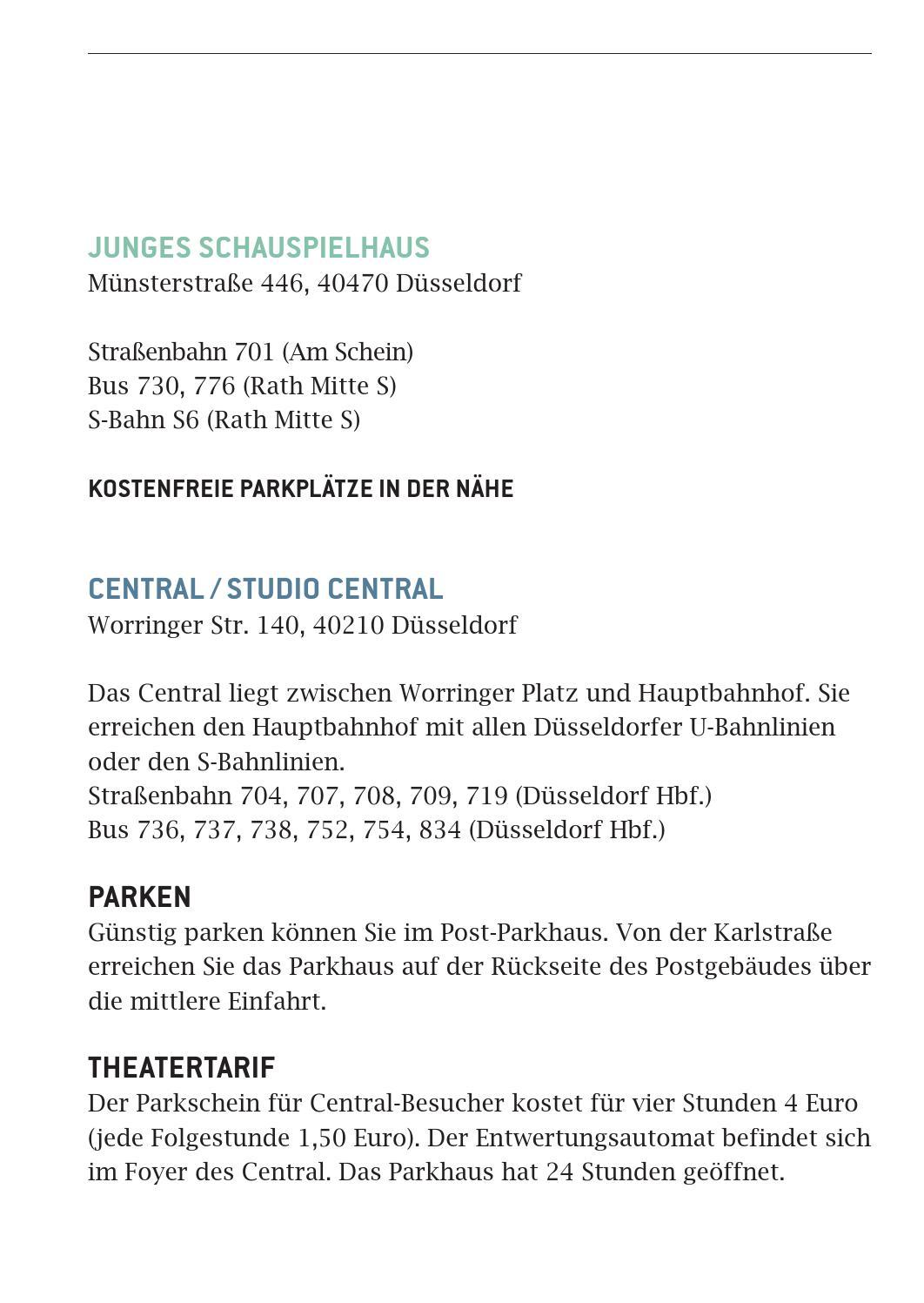 spielzeit bersicht 14 15 by d sseldorfer schauspielhaus. Black Bedroom Furniture Sets. Home Design Ideas