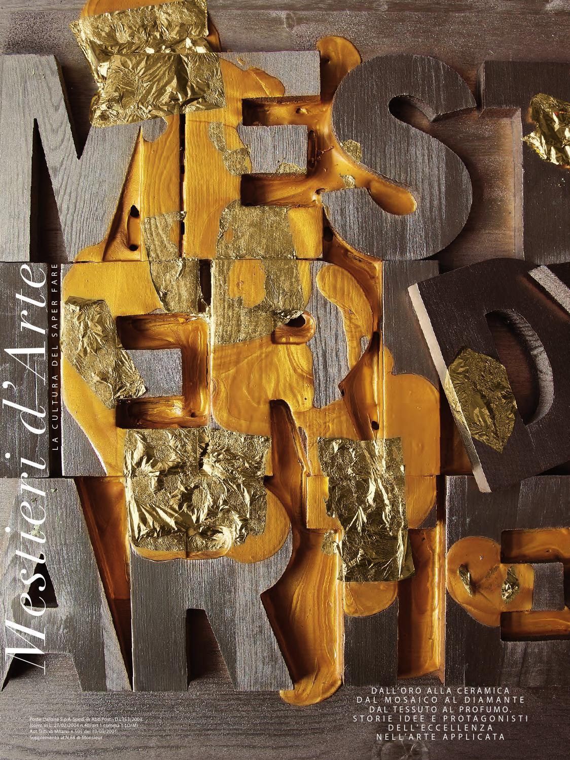 Mestieri d Arte n°1 by Fondazione Cologni dei Mestieri d Arte - issuu e39d3380190