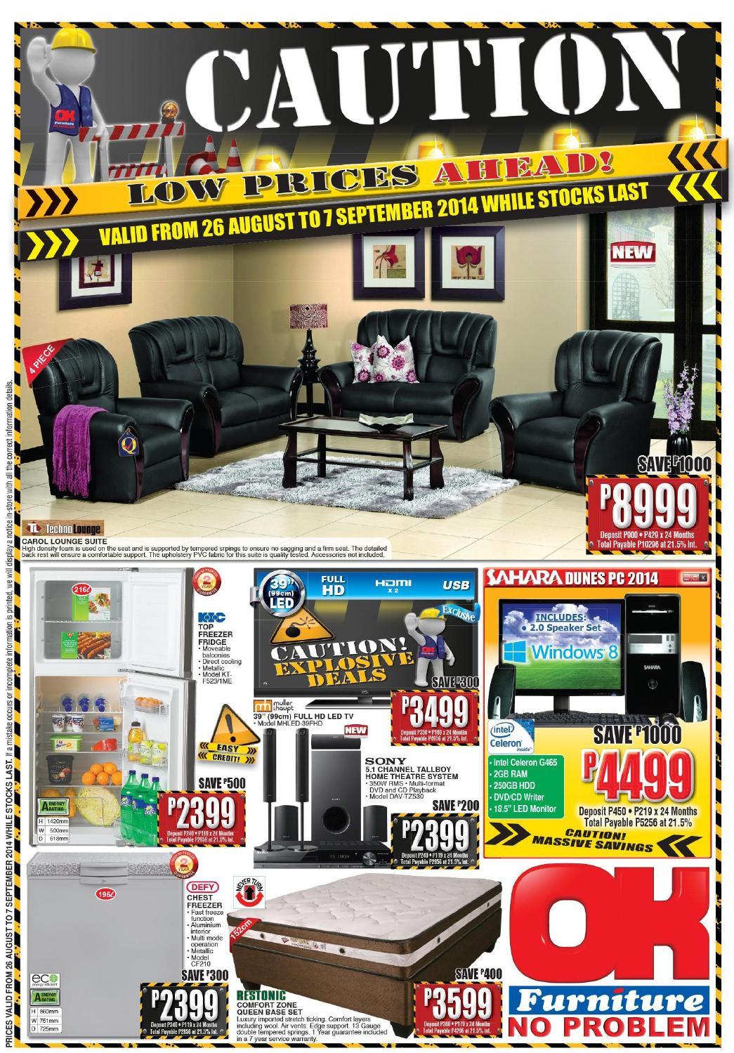 Ok Furniture International Catalogues Botswana Validity