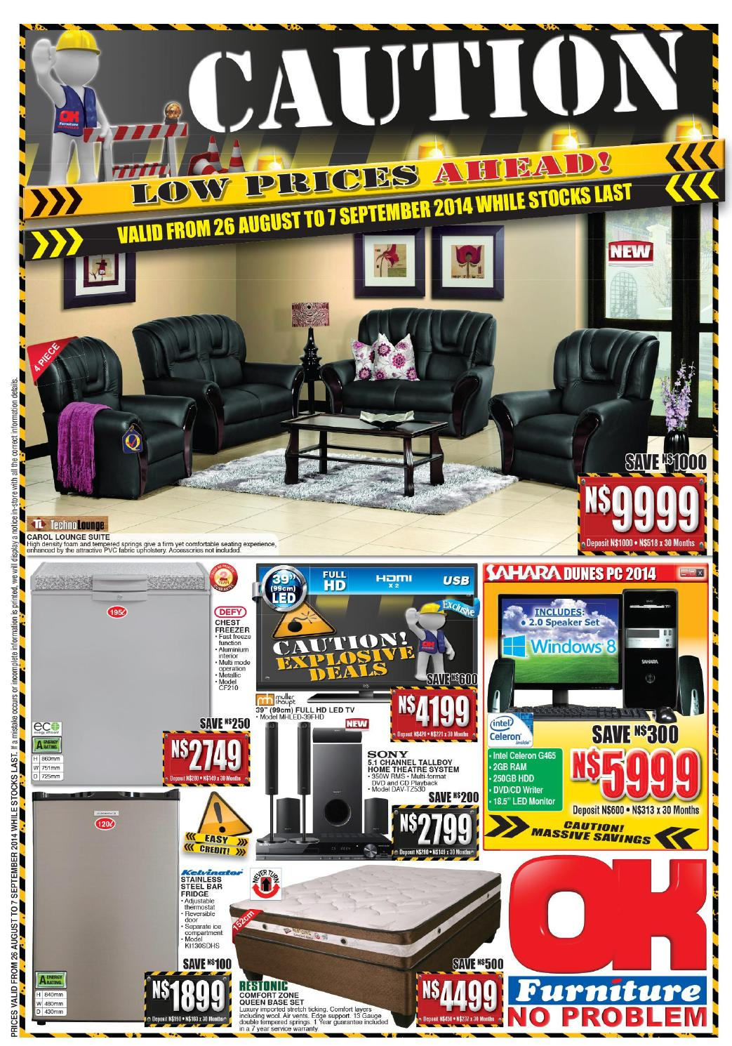 Ok furniture international catalogues namibia validity for Furniture okay
