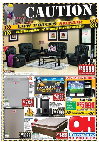 OK Furniture International Catalogues Namibia Validity 26th August ...