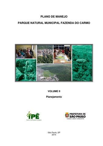 Plano de Manejo PNMFC - Volume II - Planejamento by Secretaria ... 25fbfce5bfcd3