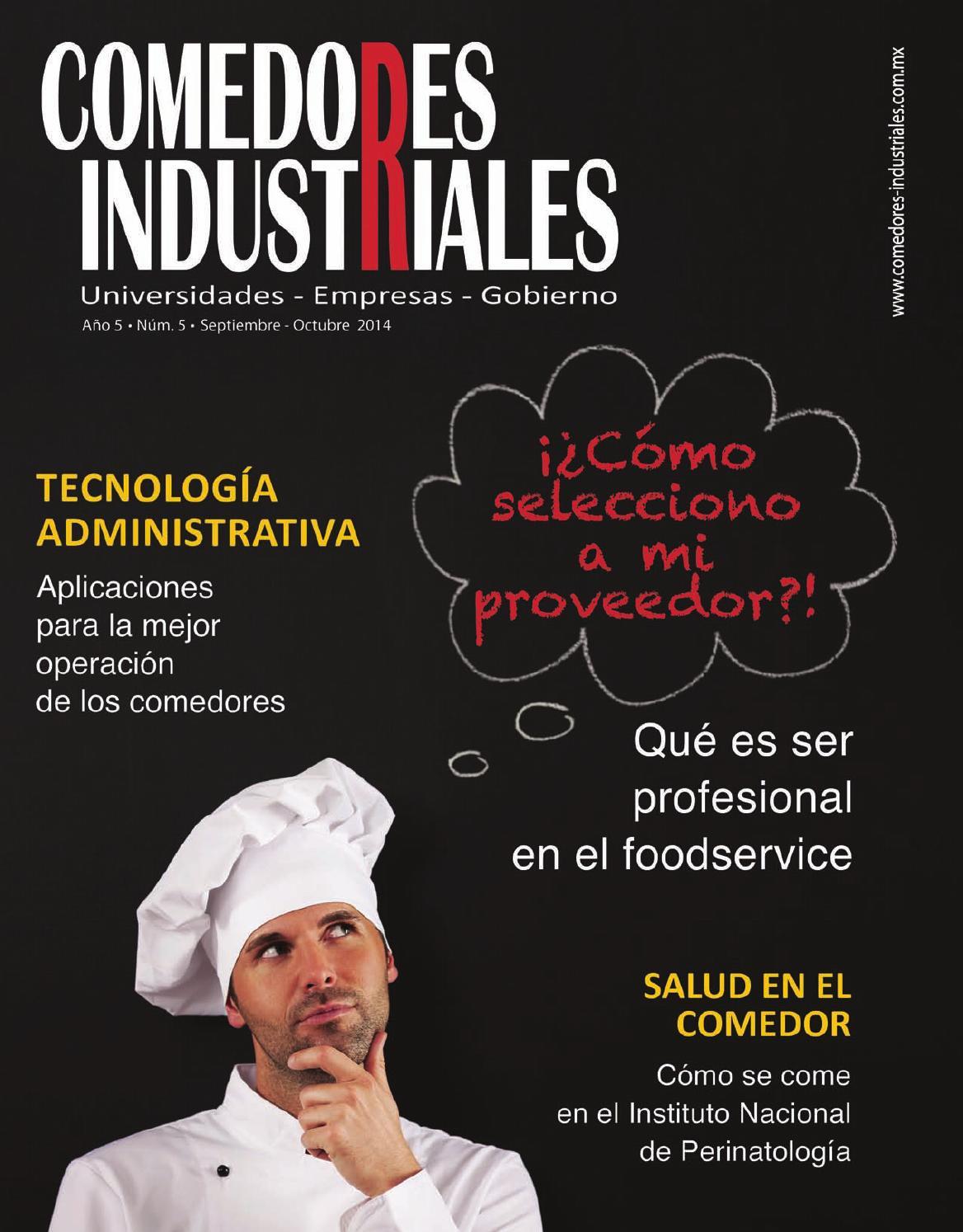 Comedores industriales septiembre octubre 2014 by for Comedores la polar