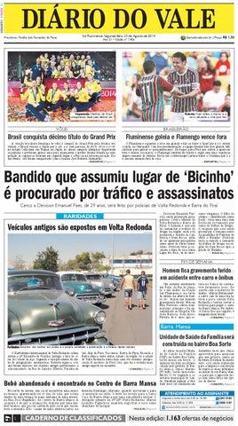 7406 diario segunda feira 25 08 2014 by Diário do Vale - issuu 6817e1501cde3
