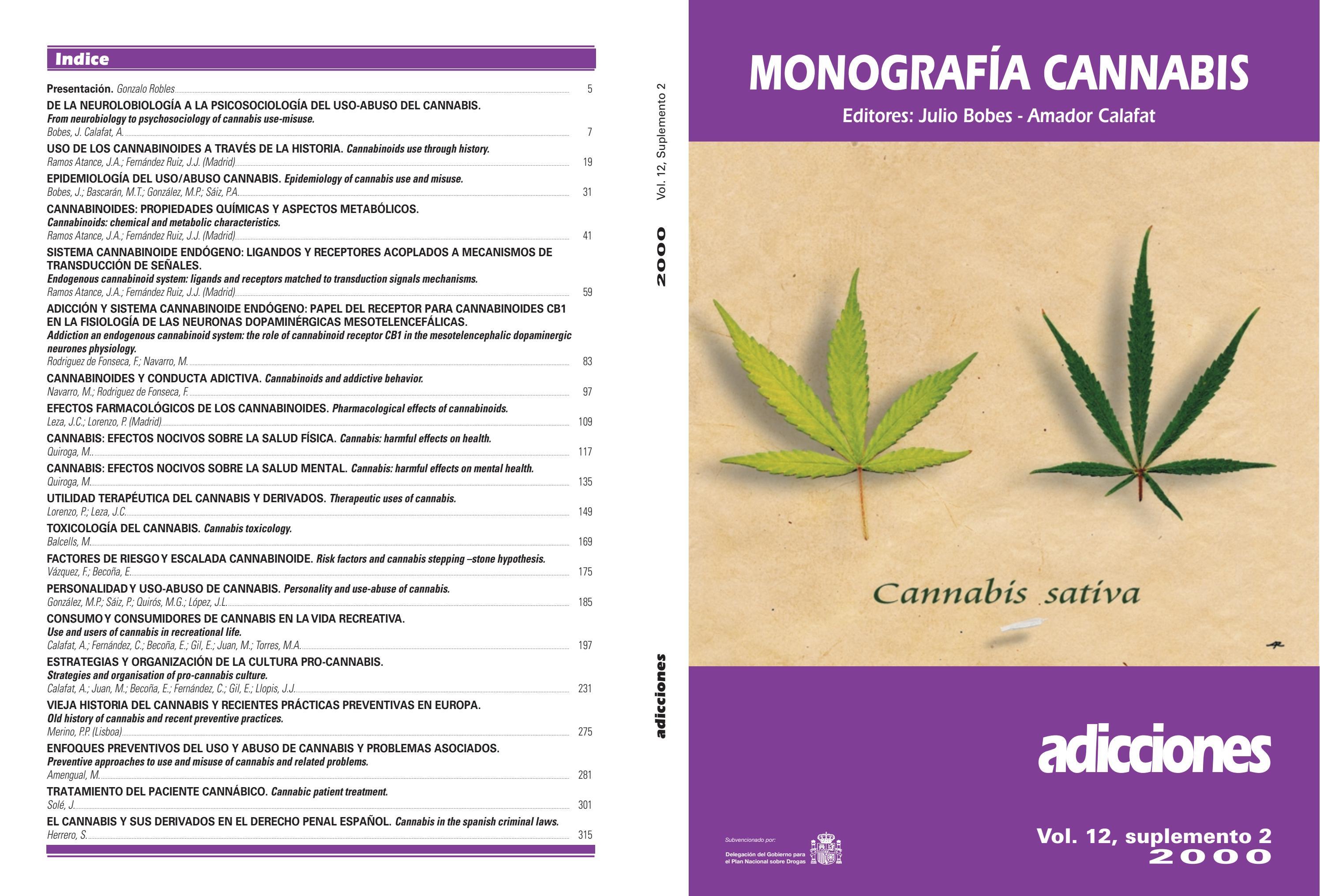 Cannabis Monografía By Victor Lillo Issuu