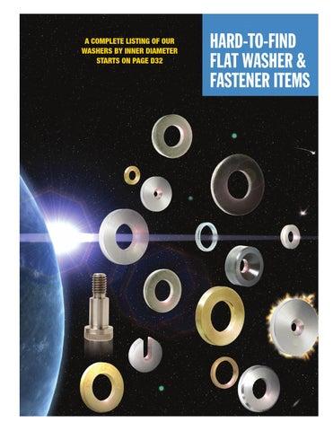 DIAMOND ENGINEERING® SS 1//4 x .625 x .100 THICK FLAT WASHER