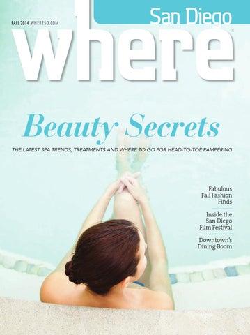 9ba370745c3 WHERE San Diego Magazine Fall 2014 by SoCalMedia - issuu