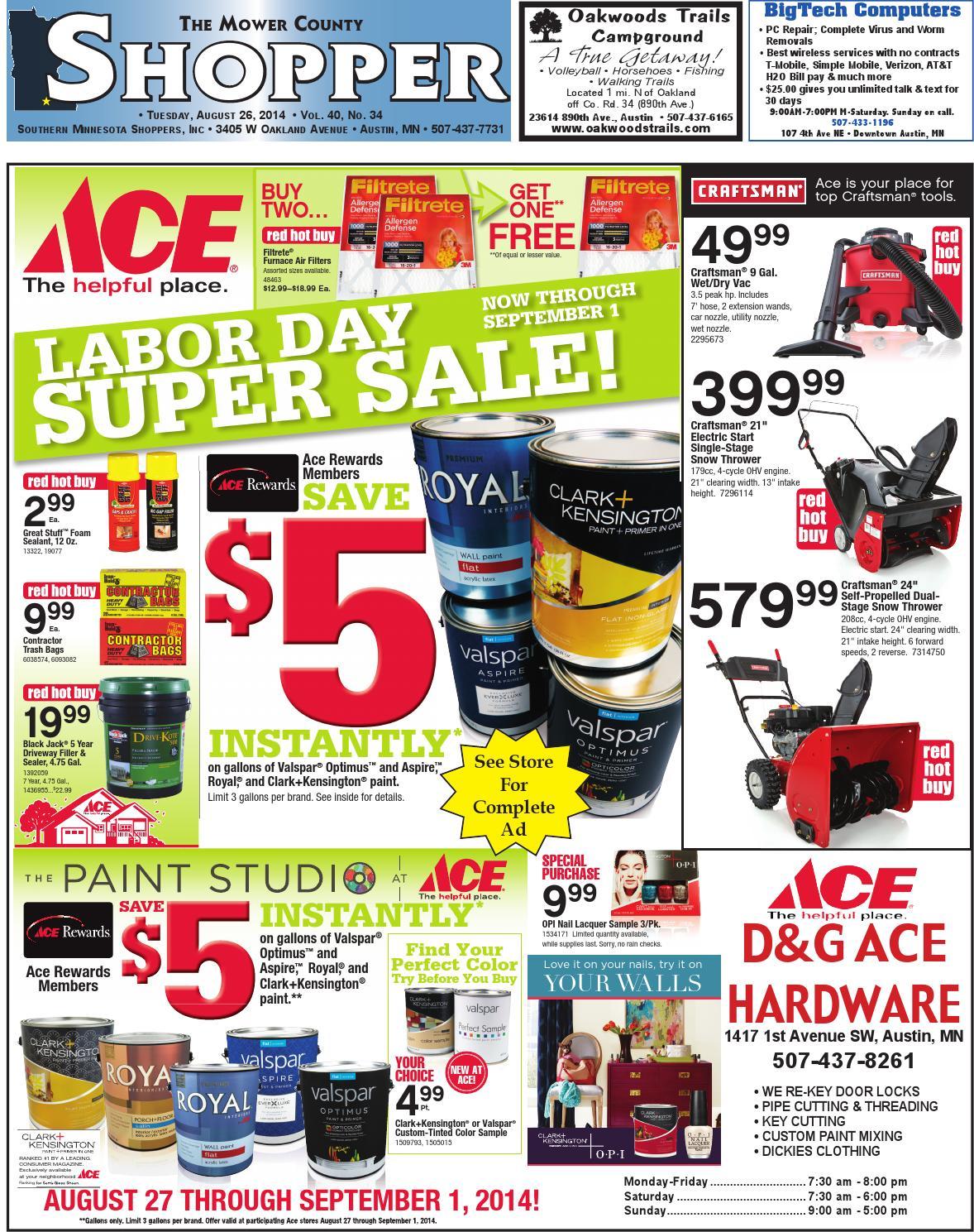 MCS 08 26 2014 by Mower County Shopper - issuu