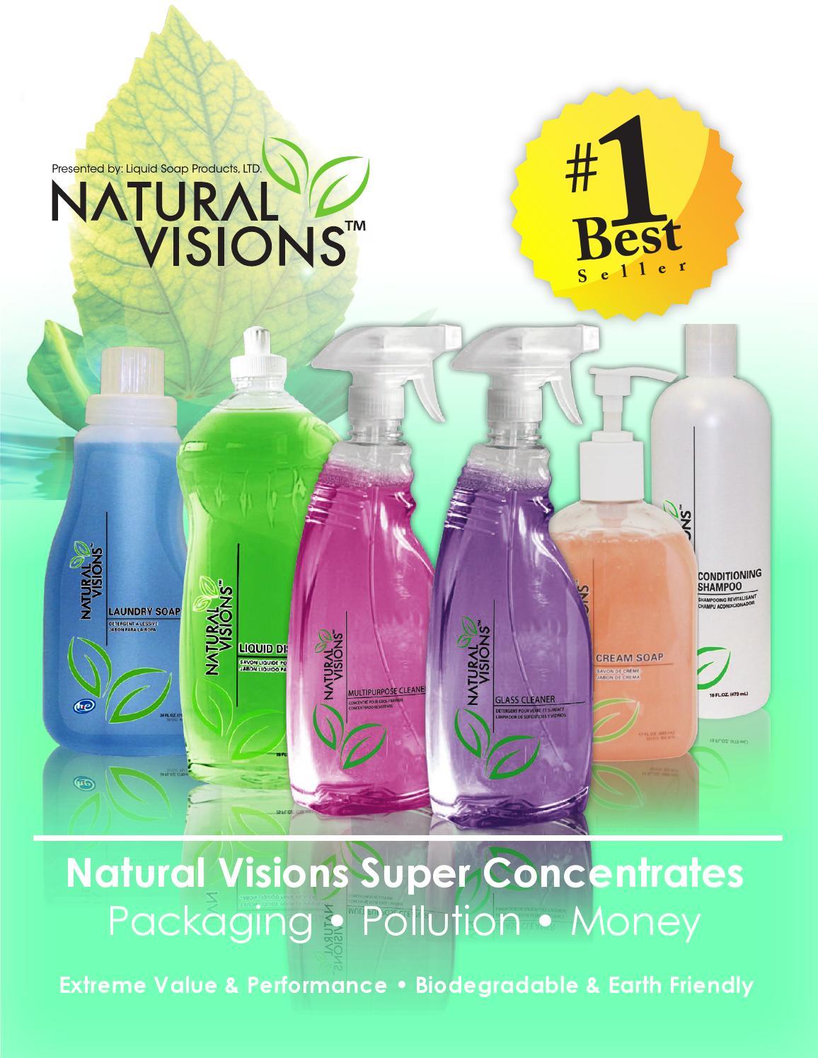 Natural Visions Brand Concentrates Dealer Delivery
