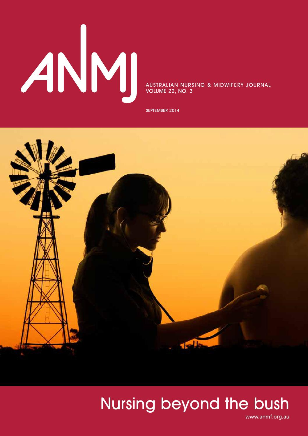 anmj september by australian nursing u0026 midwifery federation issuu