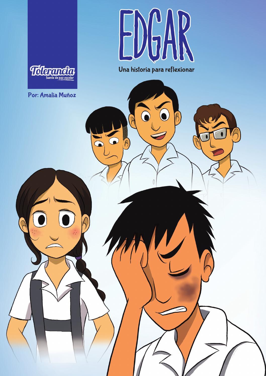 Edgar Comic Sobre La Violencia Escolar By Amalia Muñoz Issuu