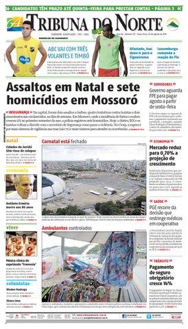 9ffbed049 Tribuna do Norte - 26/08/2014 by Empresa Jornalística Tribuna do ...