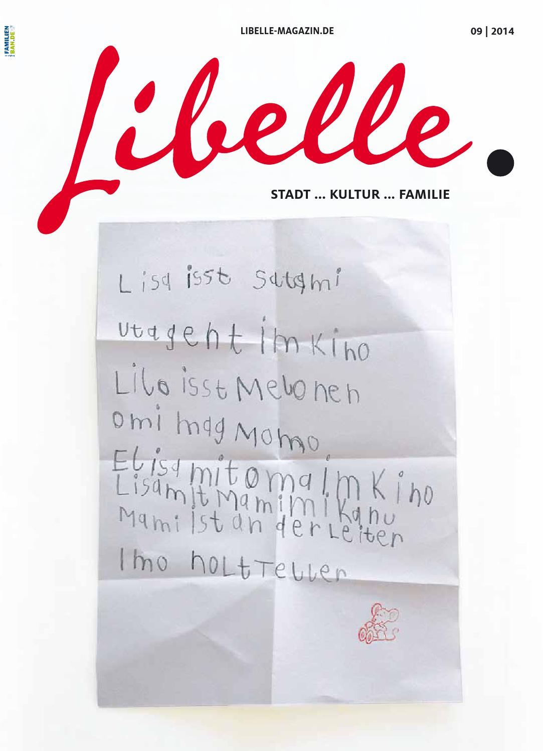 Libelle September 2014 by Libelle | Stadt ... Kultur ... Familie - issuu