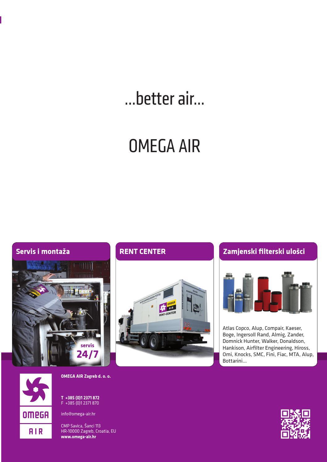 Omega Air Kompresorska Tehnika Prodajni Program Hrv By Omega