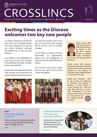 Crosslincs Sept Oct Electronic Version By Diocese Of Lincoln Issuu